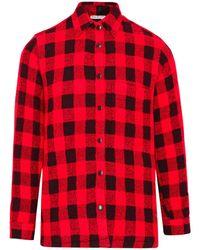 Destin Camicia Genny Check Rossa - Red