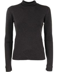 Agnona Wool Turtleneck - Grey