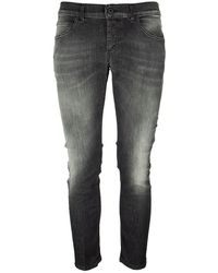 Dondup Mius - Slim Jeans - Grey