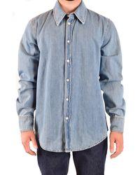 CALVIN KLEIN 205W39NYC Shirts - Blue