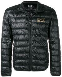 EA7 Coats Black