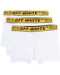 Off-White c/o Virgil Abloh Off White Underwear White