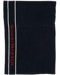 Alexander McQueen Terry Beach Towel Selvedge - Multicolour
