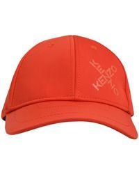 KENZO - Cappellino Loghi Arancione - Lyst