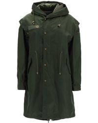 Mr & Mrs Italy Parka With Removable Vest And Bolero - Green