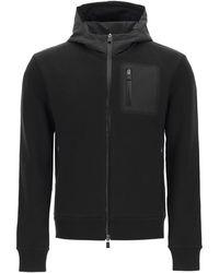 Herno Laminar Hooded Sweatshirt - Black