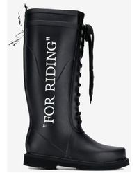 Off-White c/o Virgil Abloh Boots - Black