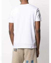 Iceberg Mickey Mouse Print T-shirt - White