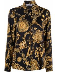 Versace Jeans Couture Shirts Black