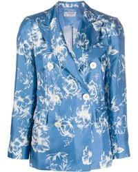 Alberto Biani Jackets Clear Blue