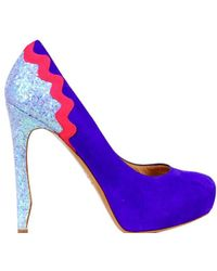 Nicholas Kirkwood Court Shoes Purple