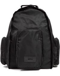 Juun.J Nylon Backpack Bag - Black
