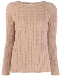 Max Mara Slim-fit Cashmere Sweater - Multicolour