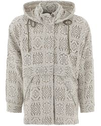 """Song For The Mute """"rain"""" Jacket - Natural"""