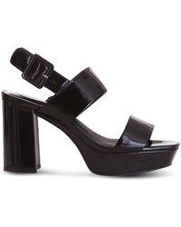 Jeffrey Campbell Moody Sandals - Black