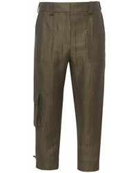 Eleventy Green Pants