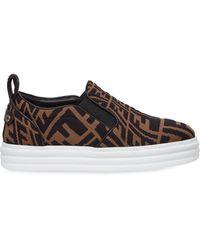 Fendi Sneakers Brown