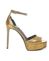 Balmain Sandals - Metallic