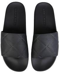 Bottega Veneta The Slider Sandals - Black