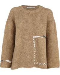 Saverio Palatella Sweaters Beige - Multicolour