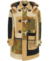 DSquared² Montgomery Coats - Green