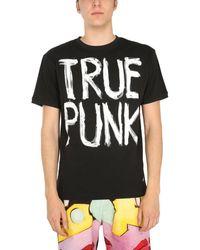 Vivienne Westwood Man Punk Cotton Jersey Printed T-shirt - Black