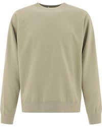 Nanamica Basic Sweatshirt - Natural
