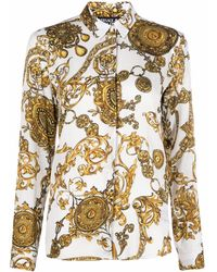 Versace Jeans Couture Shirts White