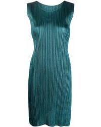 Pleats Please Issey Miyake Dresses Green