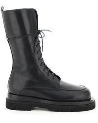 Magda Butrym Combat Boots - Black