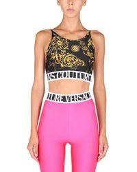 Versace Jeans Couture Top With Regalia Baroque Print - Multicolour