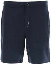 Polo Ralph Lauren JOGGERS With Logo Embroidery S Cotton - Blue