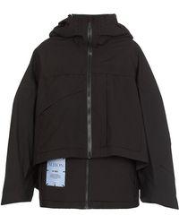 McQ Coats Black