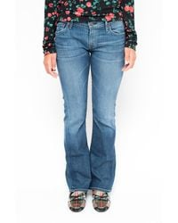 Citizens of Humanity Flared Denim - Blue