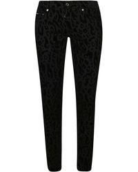Dolce & Gabbana Black Cotton Jeans