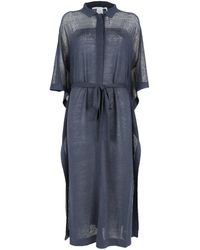 Agnona Dresses Blue
