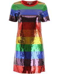 MICHAEL Michael Kors Multicolour Sequin Mini Dress