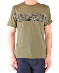 Woolrich T-shirts - Green