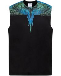 Marcelo Burlon County Of Milan Wings Basic Tank Top Tshirt - Black