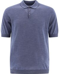 """Norse Projects """"johan"""" Wool Polo Shirt - Blue"""