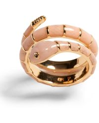 Banana Republic Snake Coil Ring - Pink