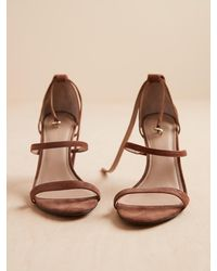 Banana Republic Bare High-heel Sandal - Brown