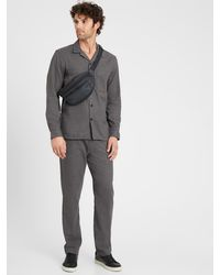 Banana Republic Core Temp Pajama Pant - Gray