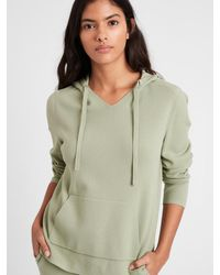 Banana Republic Sweater Hoodie - Green