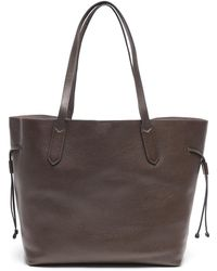 Banana Republic Leather Unstructured Tote - Brown