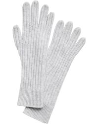 Banana Republic Cashmere Long Gloves - Gray