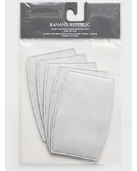 Banana Republic Adult Face Mask Insert 5-pack - White