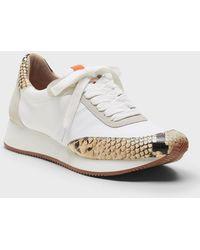 Banana Republic Essential Sneaker Sneaker - White