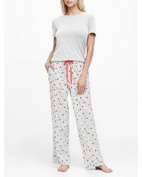 Banana Republic Flannel Pajama Pant - Multicolor
