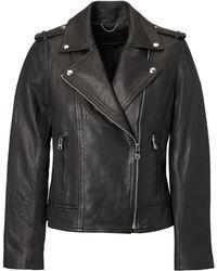 Banana Republic - Classic Leather Moto Jacket - Lyst